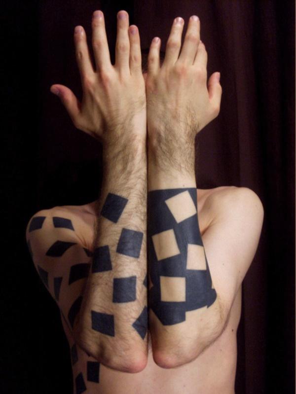 Nerdy Geometric Pattern Tattoo Designs0211