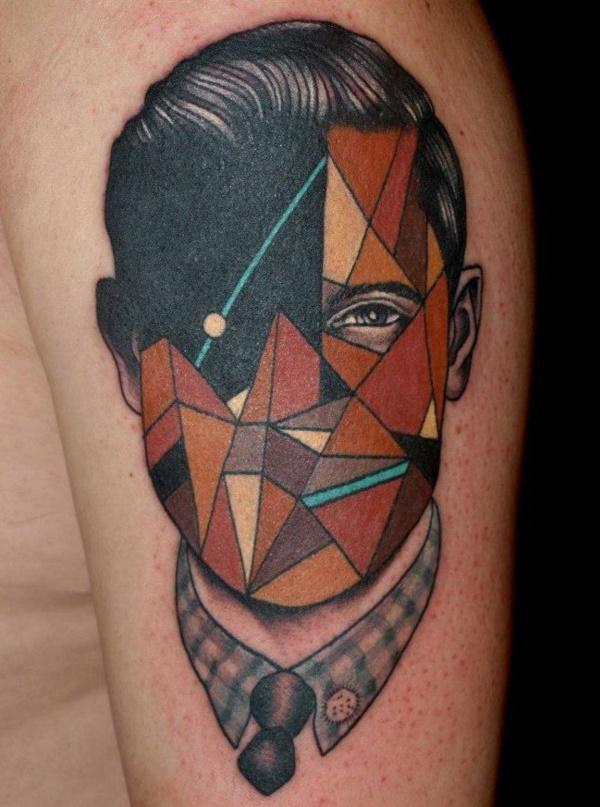 Nerdy Geometric Pattern Tattoo Designs0251