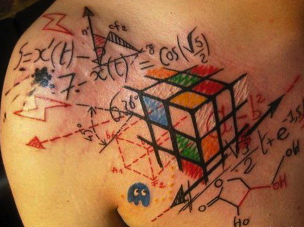 Nerdy Geometric Pattern Tattoo Designs0271