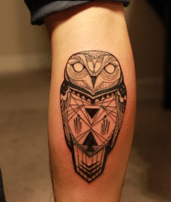 Nerdy Geometric Pattern Tattoo Designs0371