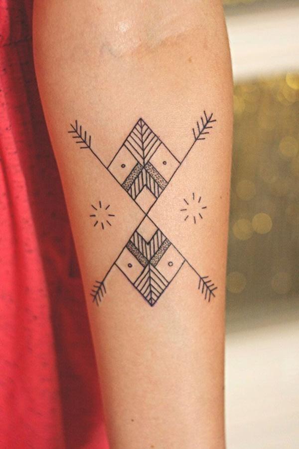 Nerdy Geometric Pattern Tattoo Designs0421