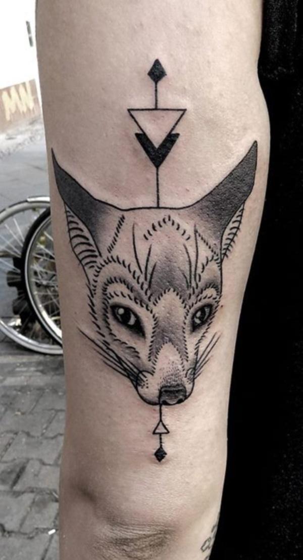 Nerdy Geometric Pattern Tattoo Designs0461