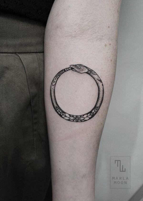 Nerdy Geometric Pattern Tattoo Designs0481