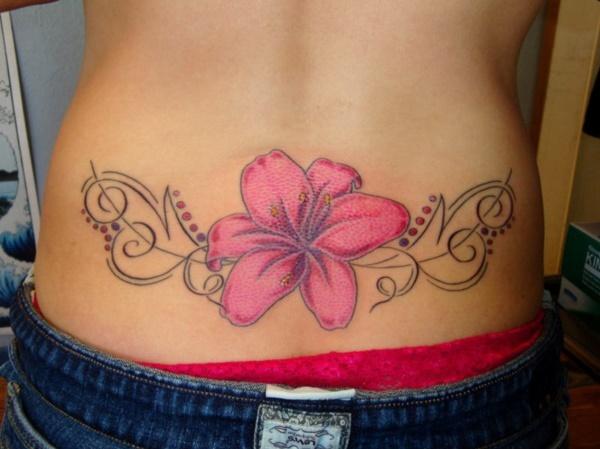 Sexy Hawaiian Tribal Tattoos for Girls0041