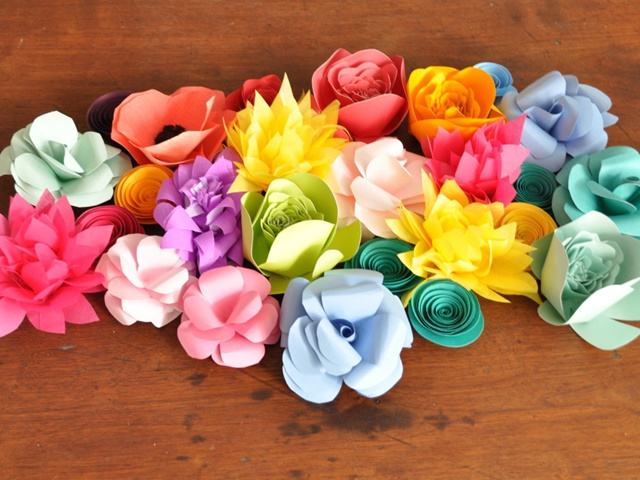50 Creative and Useful paper flower Ideas