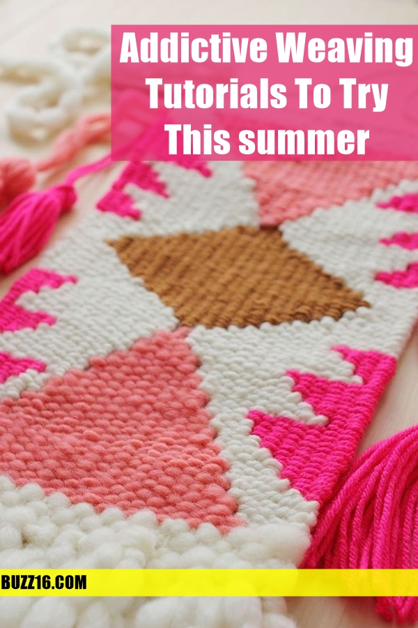 Addictive weaving Tutorials to try this summer (2)