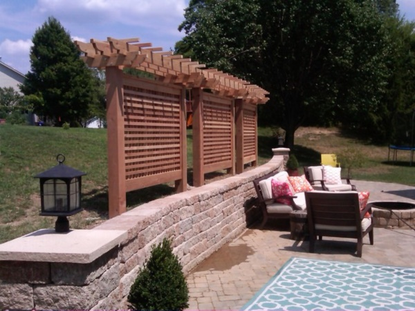 Beautiful and Safe garden privacy ideas0361