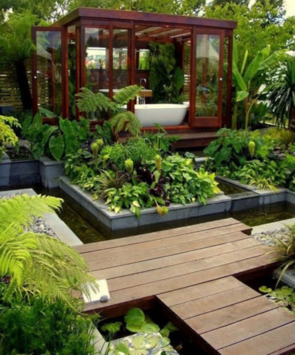 Beautiful and Safe garden privacy ideas0491