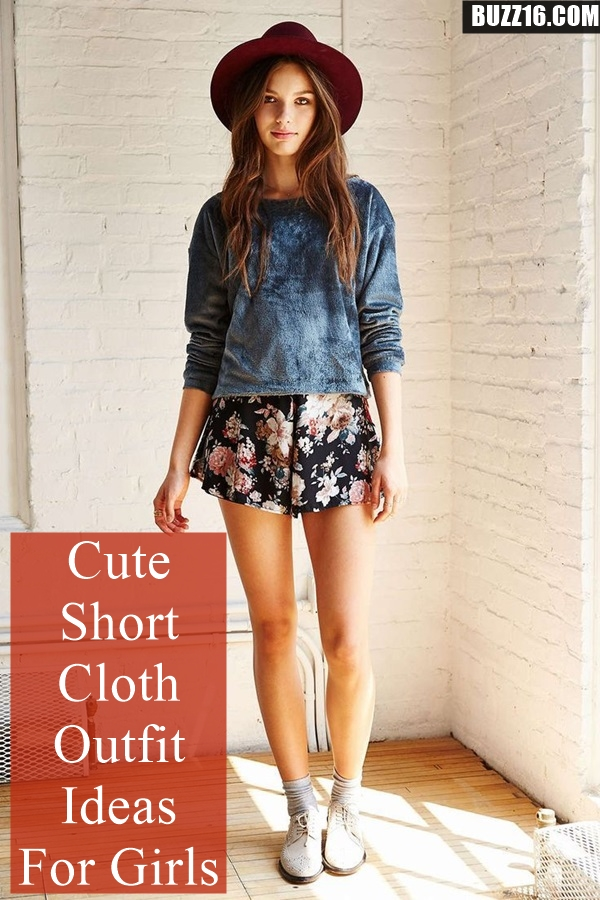 Cute Short Cloth Outfit Ideas for Girls (60)