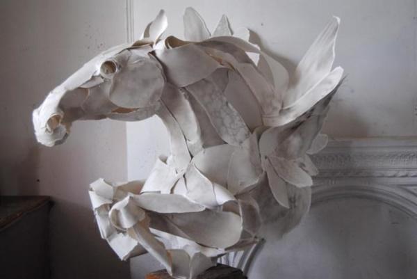 Jaw Dropping Paper sculpture Art Models0001
