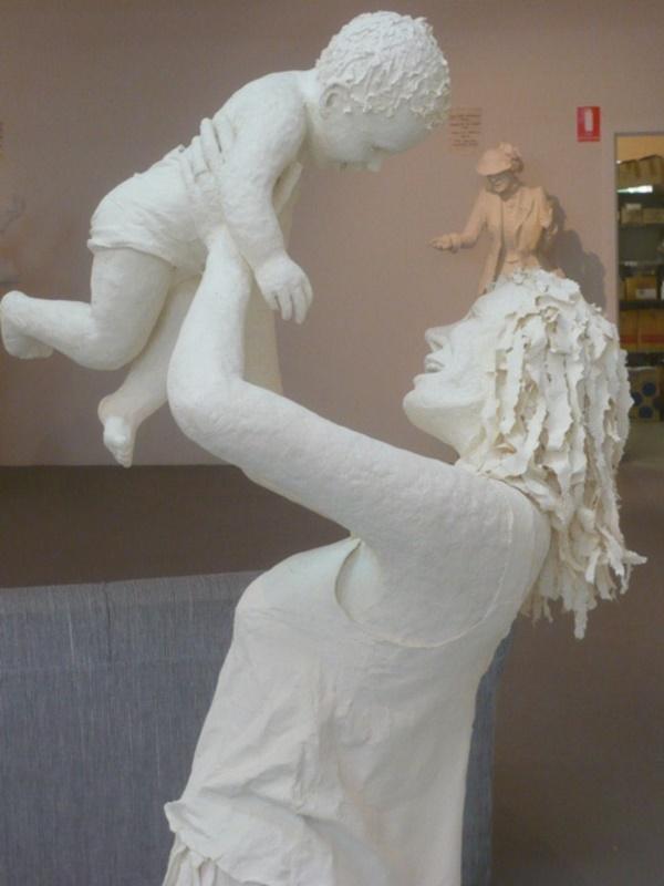 Jaw Dropping Paper sculpture Art Models0021