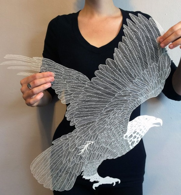 Jaw Dropping Paper sculpture Art Models0051