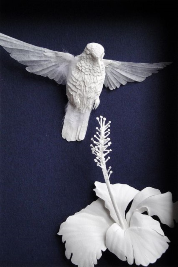 Jaw Dropping Paper sculpture Art Models0131