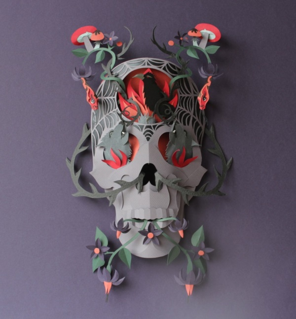Jaw Dropping Paper sculpture Art Models0151