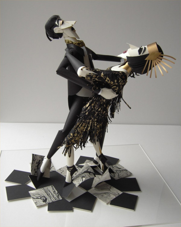 Jaw Dropping Paper sculpture Art Models0241