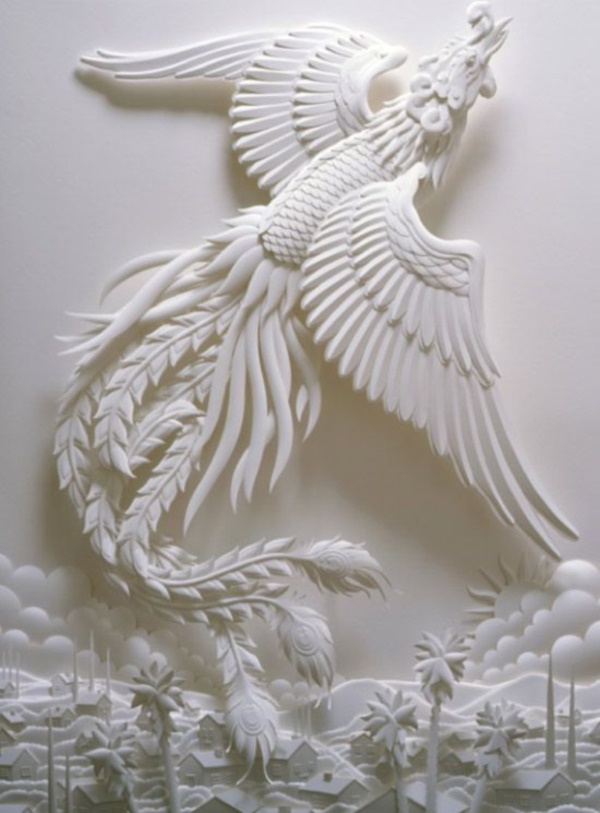 Jaw Dropping Paper sculpture Art Models0361