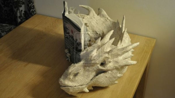 Jaw Dropping Paper sculpture Art Models0371