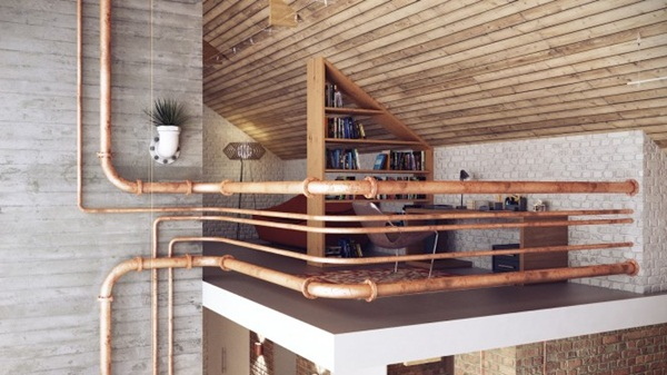 Rusty Industrial Look home and furniture designs (1)
