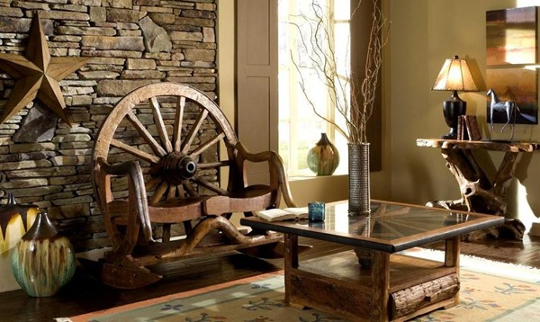 Rusty Industrial Look home and furniture designs (34)