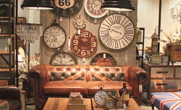 Rusty Industrial Look home and furniture designs (40)