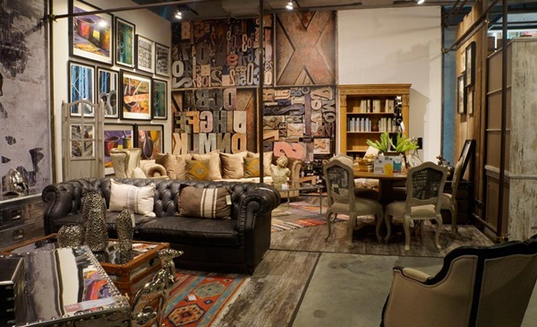 Rusty Industrial Look home and furniture designs (41)