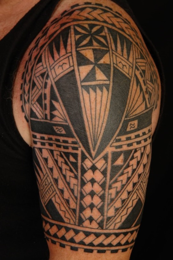 Traditional Marquesan tattoos for Men and Women0011
