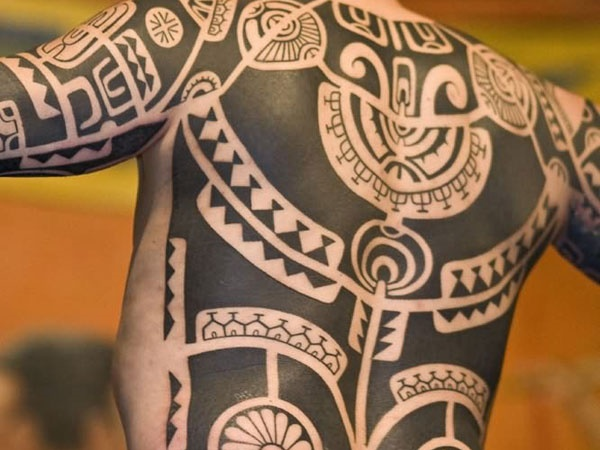 Traditional Marquesan tattoos for Men and Women0021
