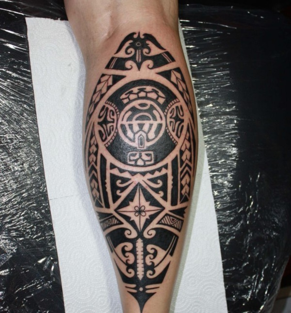 Traditional Marquesan tattoos for Men and Women0051