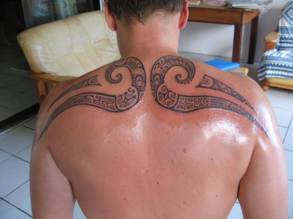 Traditional Marquesan tattoos for Men and Women0071