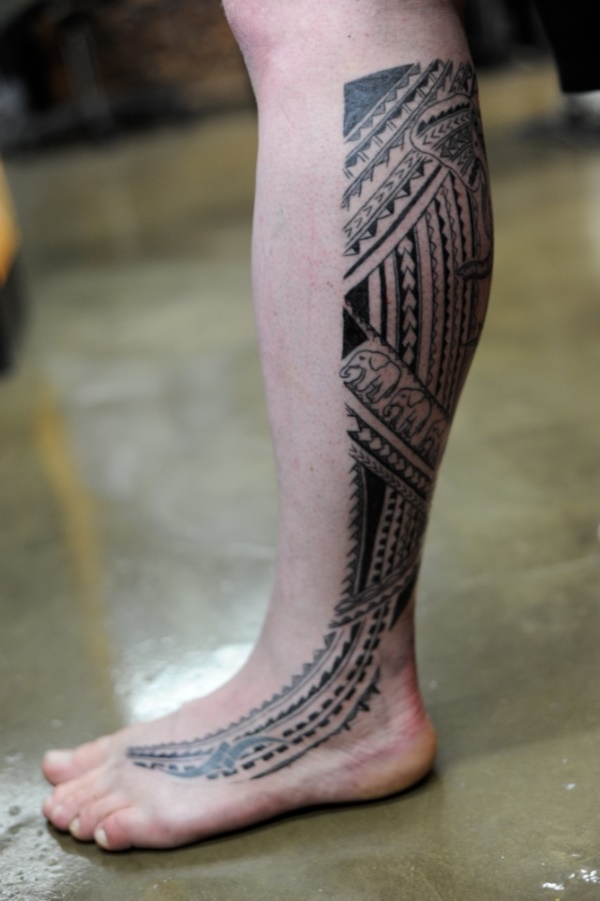 Traditional Marquesan tattoos for Men and Women0131