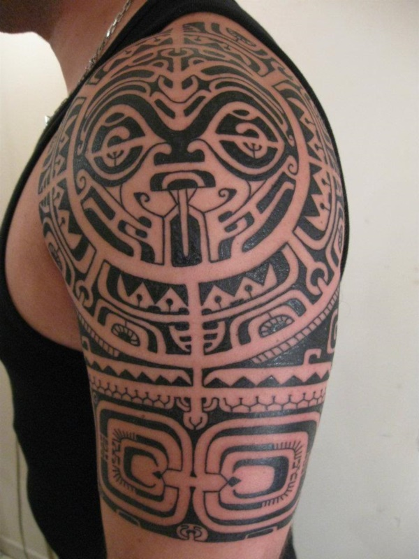Traditional Marquesan tattoos for Men and Women0201