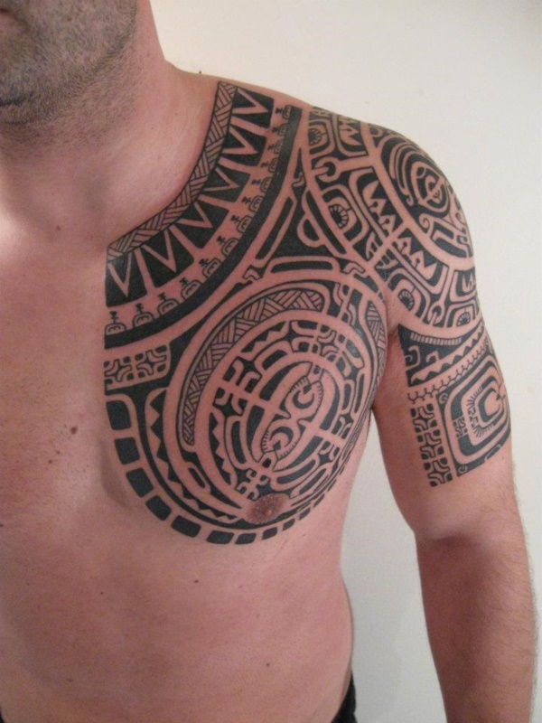 Traditional Marquesan tattoos for Men and Women0211