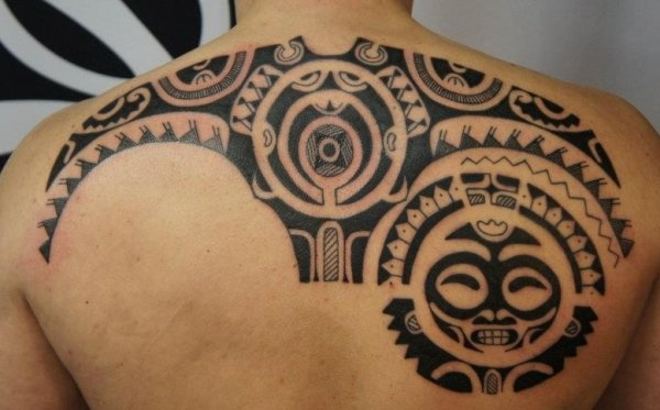 Traditional Marquesan tattoos for Men and Women0231