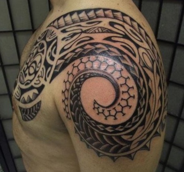 Traditional Marquesan tattoos for Men and Women0251