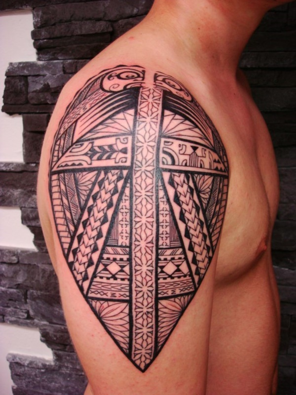 Traditional Marquesan tattoos for Men and Women0301