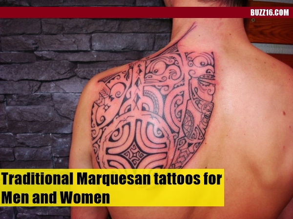 Traditional Marquesan tattoos for Men and Women0321