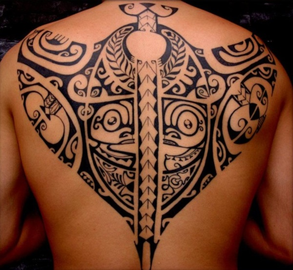 Traditional Marquesan tattoos for Men and Women0331