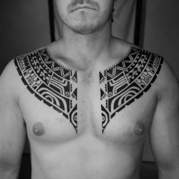 Traditional Marquesan tattoos for Men and Women0351