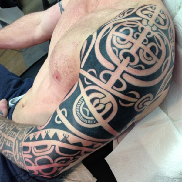 Traditional Marquesan tattoos for Men and Women0361