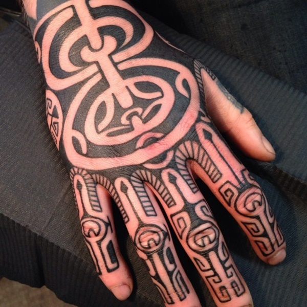 Traditional Marquesan tattoos for Men and Women0371