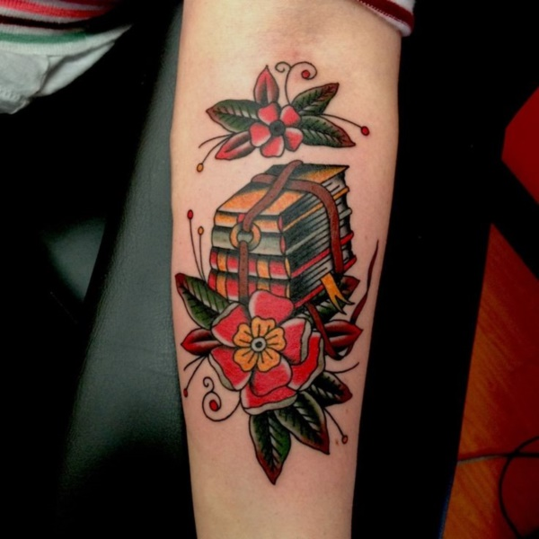attractive literary book tattoos0151
