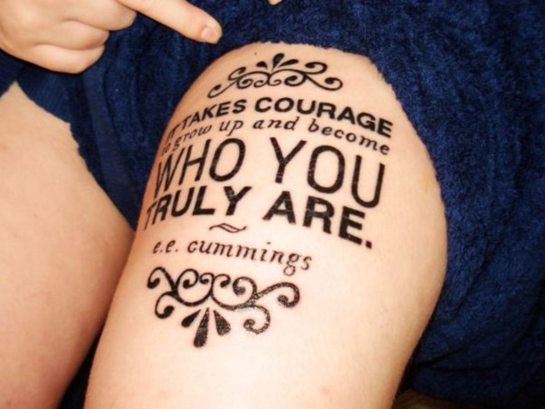attractive literary book tattoos0291