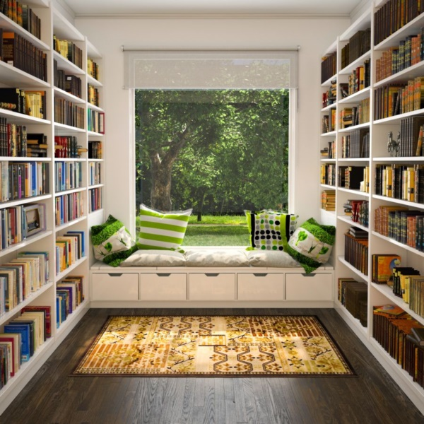 genius book nook ideas for readers0191