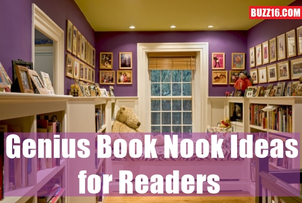 genius book nook ideas for readers0321