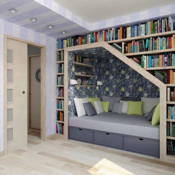 genius book nook ideas for readers0411