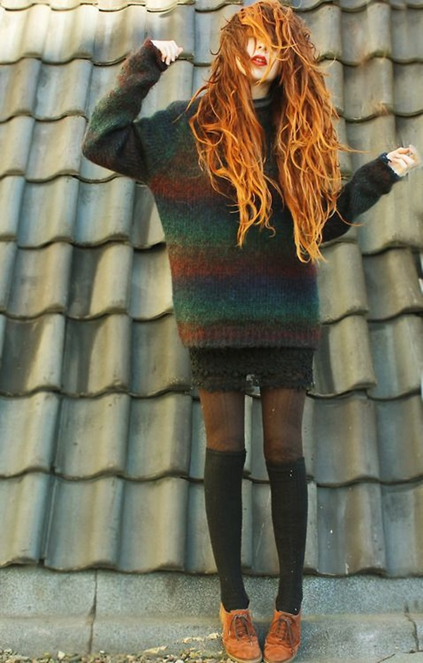 Cool Looking Grunge style Outfits for Girls (1)
