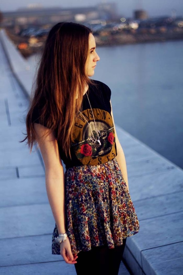 Cool Looking Grunge style Outfits for Girls (10)