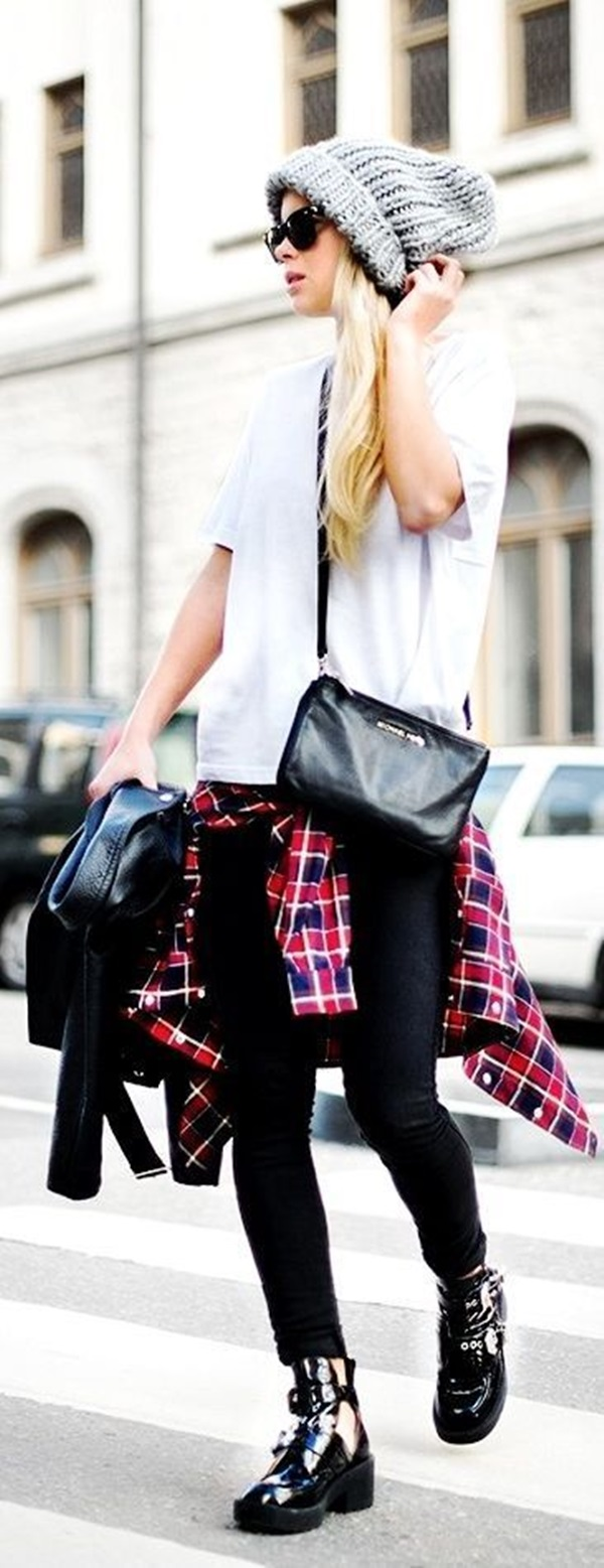 Cool Looking Grunge style Outfits for Girls (12)