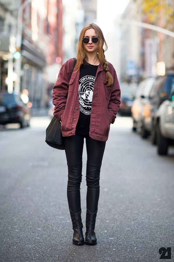 Cool Looking Grunge style Outfits for Girls (16)