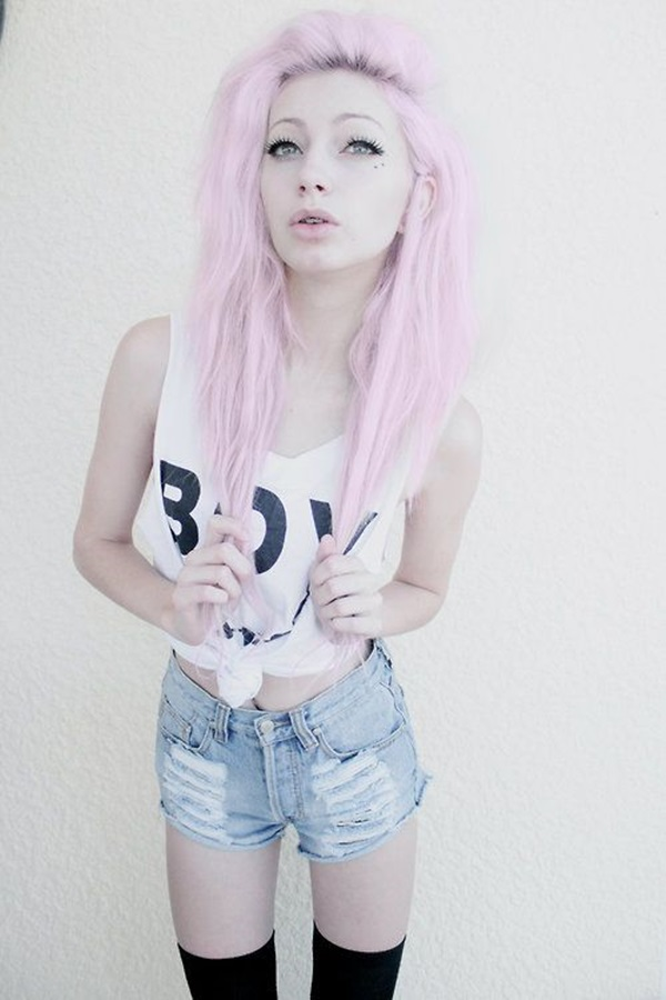 Cool LookingGrunge style Outfits for Girls (2)